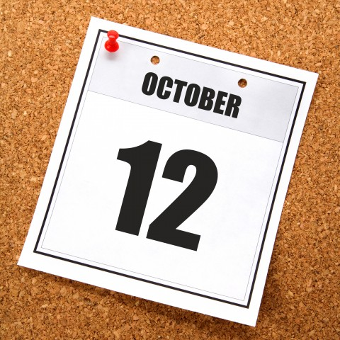 October 12 Holiday