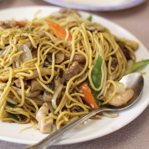 Pancit, a Traditional Chinese Dish Adopted by Filipinos