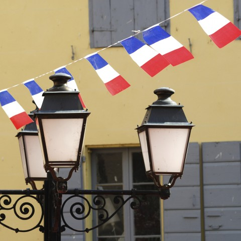 Decorations for Bastille Day