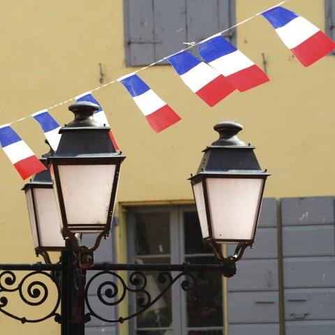 Decorations for Bastille Day