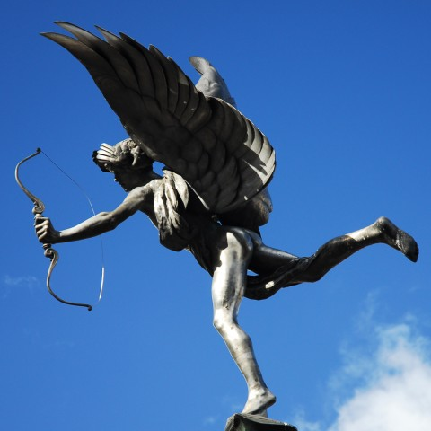 Statue of Cupid, Roman God of Love
