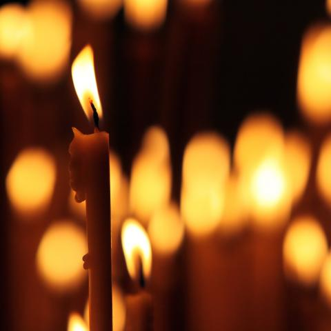 Silent Tribute by Candlelight
