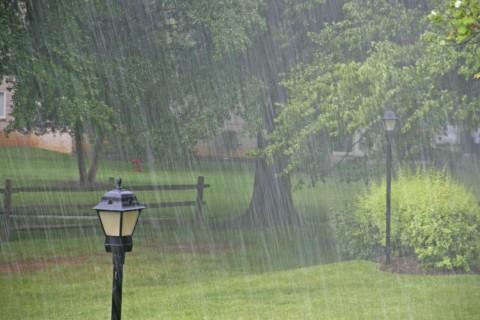 It's Raining Really Hard.