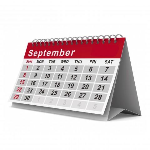 Standing Up Calendar