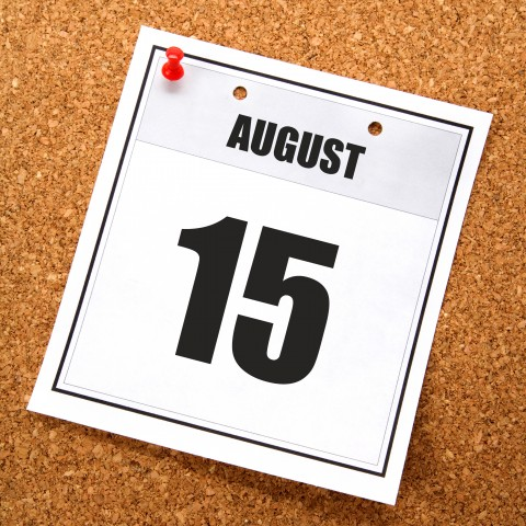 August 15 Holiday Date