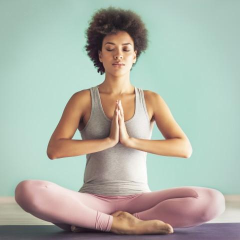 Yoga Namaste Pose