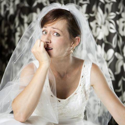 Anxious, Nervous Bride
