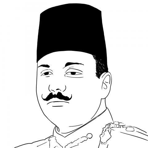 King Farouk (al-malik fārūq)