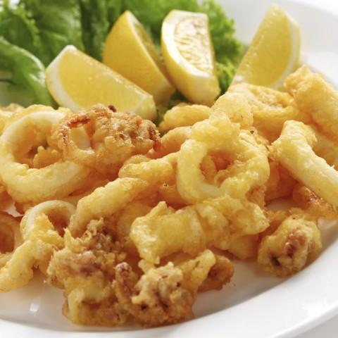 Deep-Fried Calamari Dish