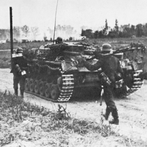 An Old Picture of a Tank From WWII