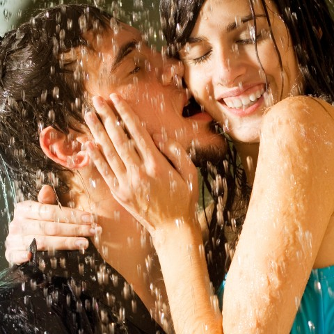 Couple in the Shower
