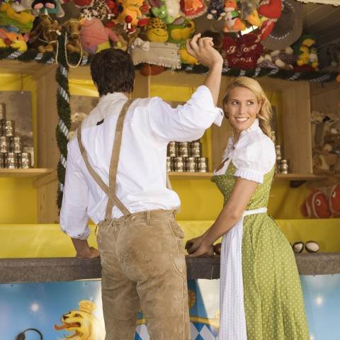 Couple at Oktoberfest