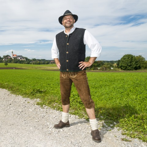 Man Going to Oktoberfest
