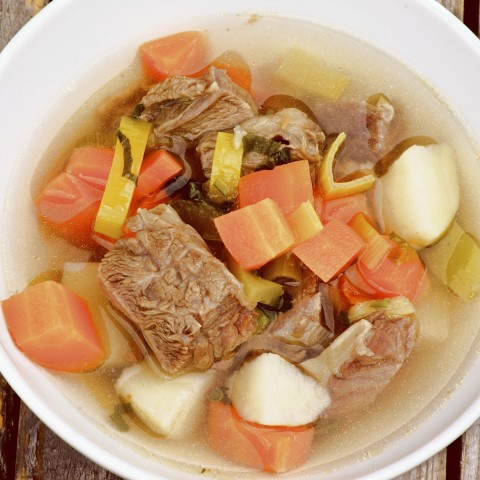 Bowl of Beef Soup