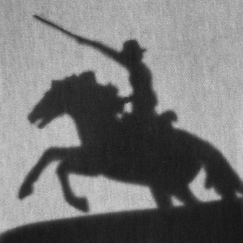 Shadow of a Cavalry Soldier