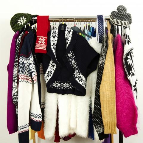 A Lot of Winter Clothes