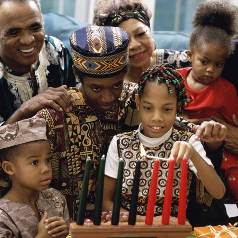 Traditional Family Gathering with Kwanzaa