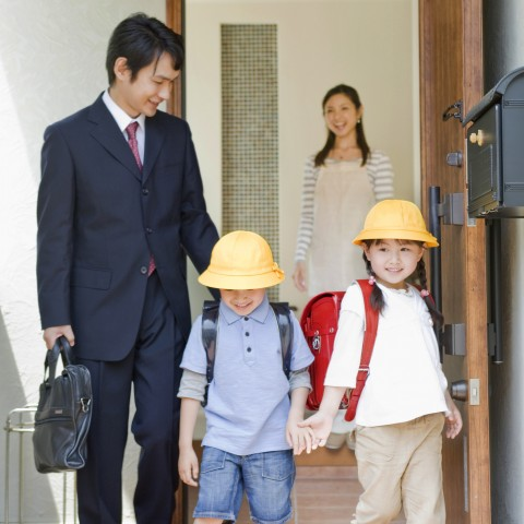 Family Leaving Home