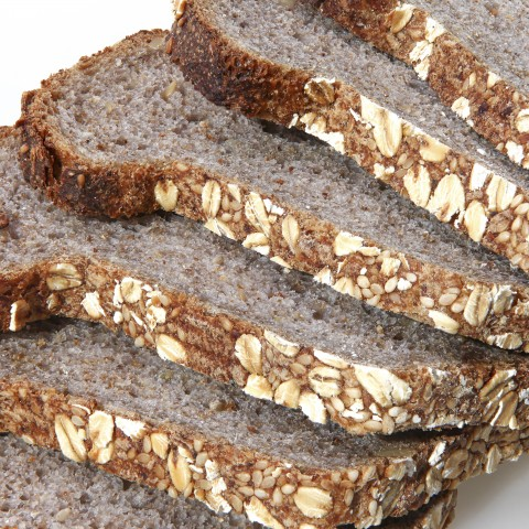 Slices of Whole-Wheat Bread