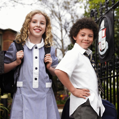 KIDS IN SCHOOL UNIFORM
