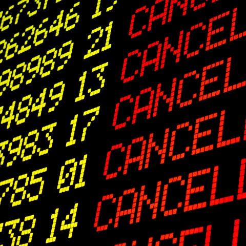 Flights That Are Cancelled