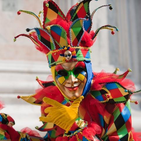 Harlequin Costume
