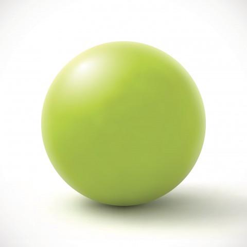 Round Green Ball