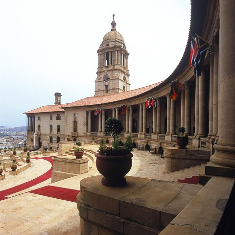 Union Buildings in South Africa, Governmental Offices in Pretoria
