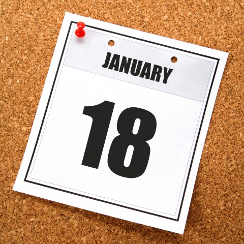 Date of January 18