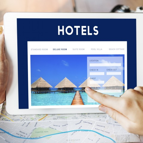 Screen Tablet Hotel
