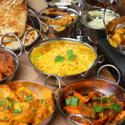 Famous Indian Cuisine Served at Dhaabaa