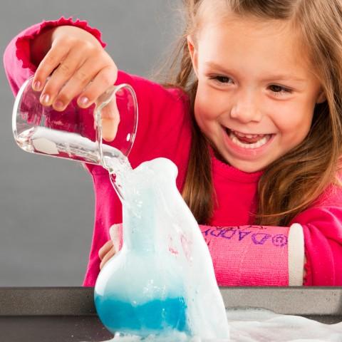 Girl Learning Chemistry
