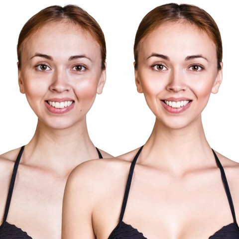 Two Different Images of Woman