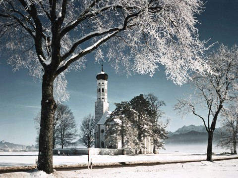 Snow in Germany