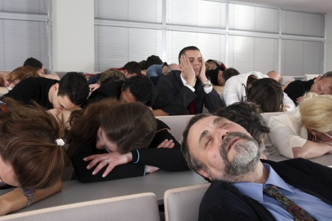 Audience Bored during Presentation