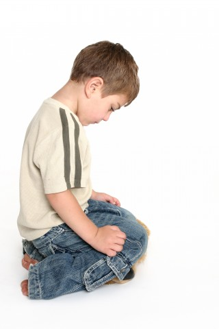 Child Kneeling