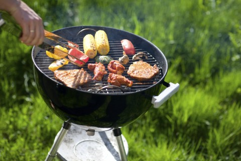 Barbeque with Meat and Veg
