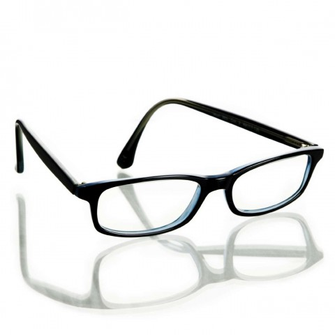 Black-Framed Eyeglasses