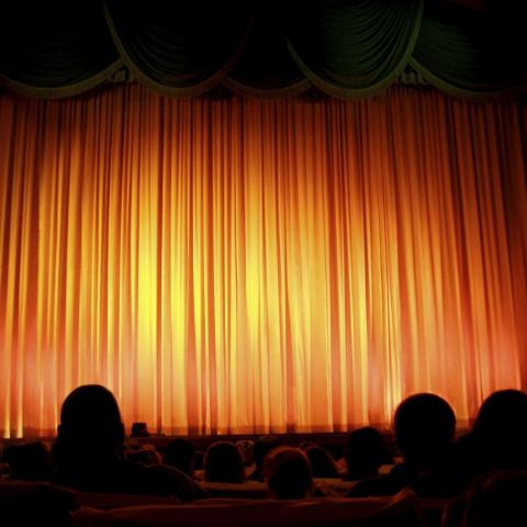 A Stage at a Theater
