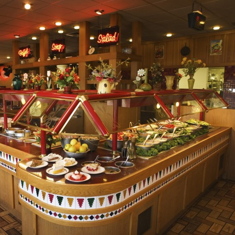 Salad Bar at a Restaurant