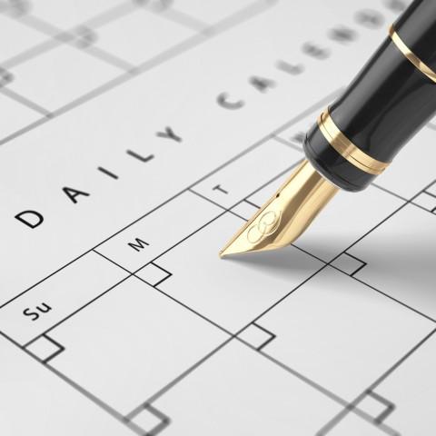 A Write-In Calendar